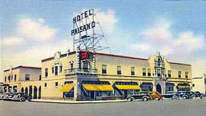 Hotel Paisano, Marfa, Texas about 1940